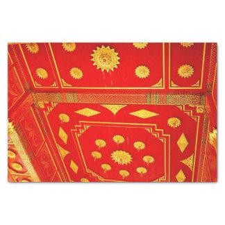 Thailändische Pavillion Decke Seidenpapier