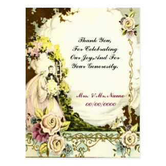 thank you card postkarte