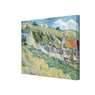 Thatched Hütten durch Vincent van Gogh Leinwanddruck
