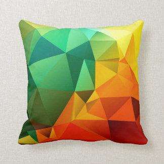THCHS • Mehrfarbiges polygonales Kissen
