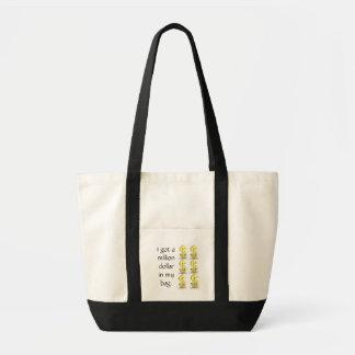 the million dollar bag impulse stoffbeutel