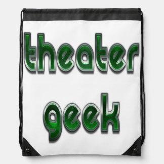 Theater-Aussenseiter-Grün Sportbeutel