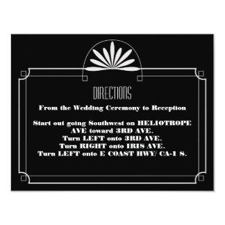 Theater-Karten-Empfangs-Einladung 10,8 X 14 Cm Einladungskarte