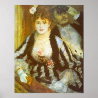 Theater-Kasten durch Pierre Renoir, Vitnage schöne Poster