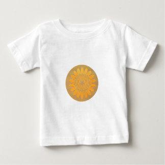 Thema-Sonnenblume Baby T-shirt