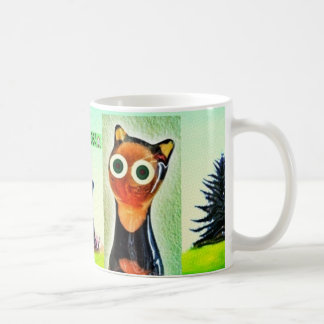 ThOc Haus-Katzen-Tasse Tasse