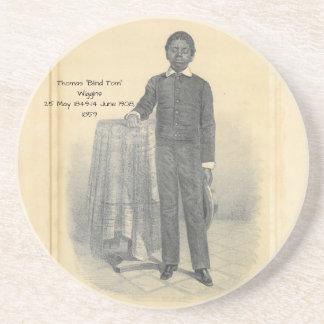 """Thomas """"blinder Tom"""" Wiggins, 1859 Getränkeuntersetzer"""