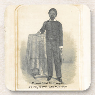 """Thomas """"blinder Tom"""" Wiggins, 1859 Untersetzer"""
