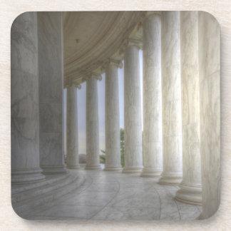 Thomas Jeffersonerinnerungskreiskolonnade Untersetzer