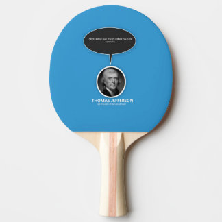 Thomas- JeffersonKlingeln Pong Paddel Tischtennis Schläger
