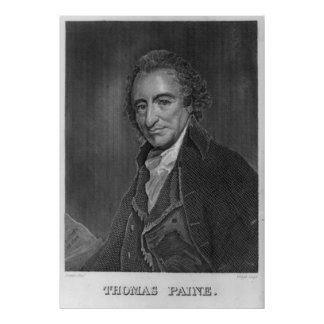 THOMAS PAINE-Druck durch George Romney Poster