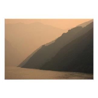 Three Gorges am Sonnenuntergang Fotodruck