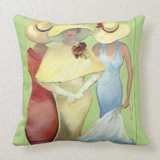THREE LADIES (Baumwolle) Kissen