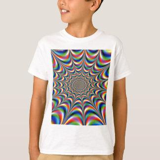 throbbing-Fraktal-optische Illusion T-Shirt