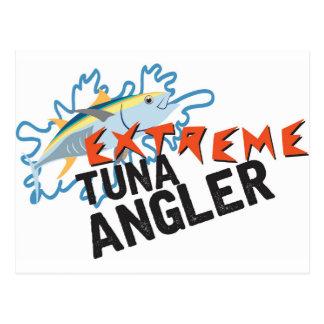 Thunfisch-Angler Postkarten