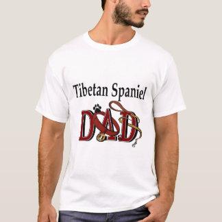 Tibetanische Spaniel-Vati-Geschenke T-Shirt
