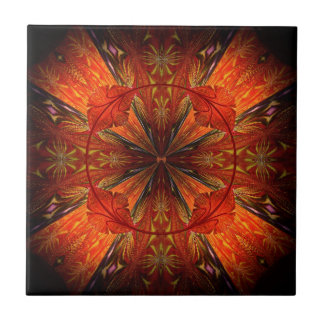 Tibetanische Trompete-Rebe Kleine Quadratische Fliese