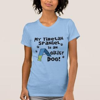 Tibetanischer Spaniel-Agility-Hundedamen-T - Shirt