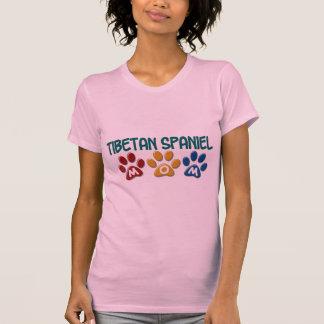 TIBETANISCHER SPANIEL Mamma-Tatzen-Druck 1 T-Shirt