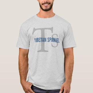 Tibetanisches Spaniel-Zucht-Monogramm T-Shirt