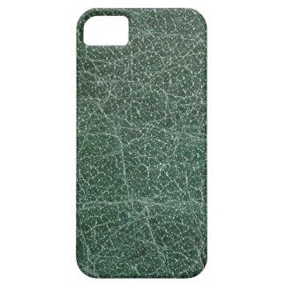 Tief dunkelgrün auf ledernem Ende Schutzhülle Fürs iPhone 5
