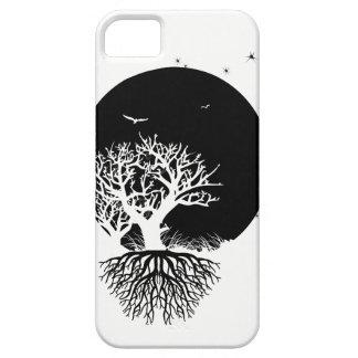 Tief verwurzelter Mond iPhone 5 Schutzhüllen