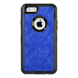 Tiefer blauer Marmorblick OtterBox iPhone 6/6s Hülle