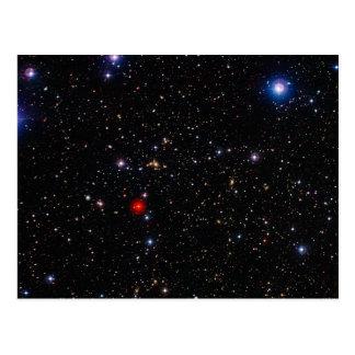 Tiefer Feld-Bild-GalaxieSupercluster Abell 901 902 Postkarte