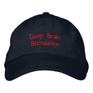 Tiefer Gehirn-Anregungs-Hut Bestickte Baseballkappe