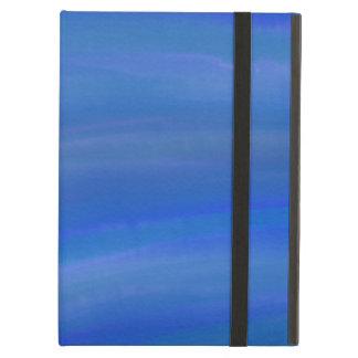 Tiefes dunkelblaues Ozean Watercolor-iPad Air ケース