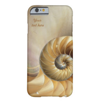 Tier-Muster - Seashell-Makro Barely There iPhone 6 Hülle