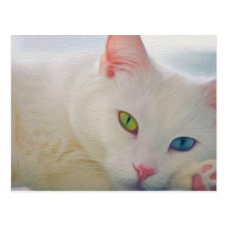 Tier Postkarte