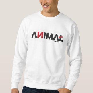 TierCrewhals der Männer Sweatshirt