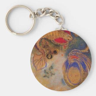 Tiere der Unterseite des Meeres durch Odilon Redon Schlüsselanhänger