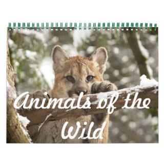 Tiere des wilden Kalenders Kalender