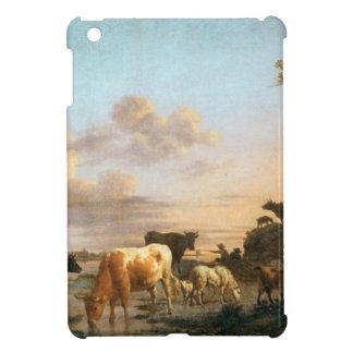 Tiere durch den Fluss durch Adriaen van de Velde iPad Mini Hülle