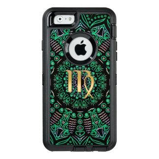 Tierkreis-Zeichen-Jungfrau-Mandala OtterBox iPhone 6/6s Hülle