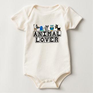 Tierliebhaber-Baby-T - Shirt