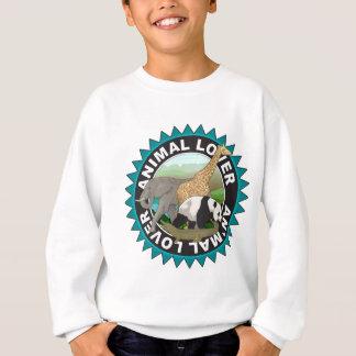 Tierliebhaber-Logo Sweatshirt