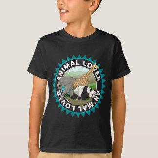 Tierliebhaber-Logo T-Shirt