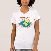 Tierpflege-T - Shirt - Frauen