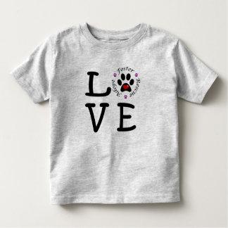 Tierrettungs-Liebe-Kleinkind-Geldstrafe-Jersey-T - Kleinkind T-shirt