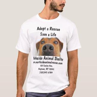 Tierschutz adoptieren ein T-Shirt