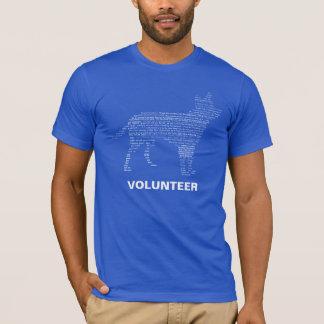 Tierschutz-Freiwillig-Shirt T-Shirt