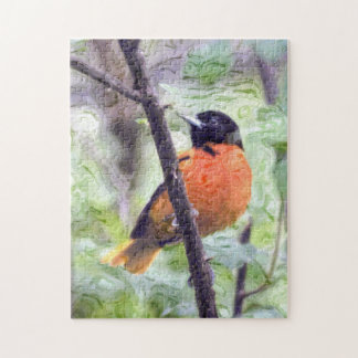 Tiervogel Baltimore Oriole Puzzle