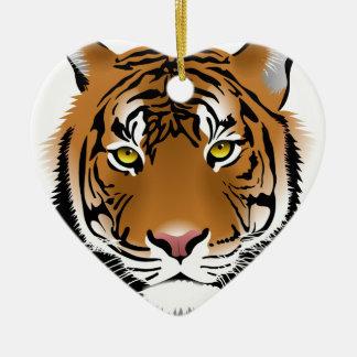 Tiger-Augen Keramik Ornament
