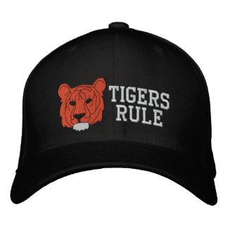 Tiger gestickter Hut Bestickte Kappe