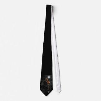 Tiger-Mond-Krawatte Krawatte