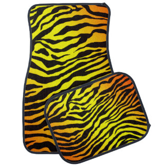 Tiger-Streifen Auto Fussmatte