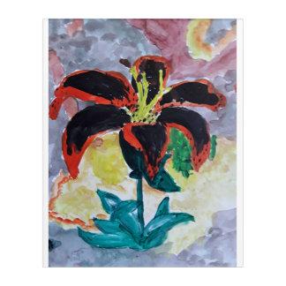 Tigerlilie Acryldruck